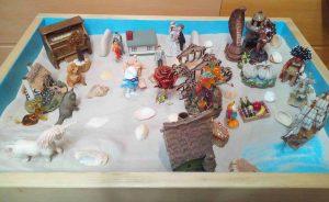 Арт-терапия с использованием песка. Психолог в Киеве